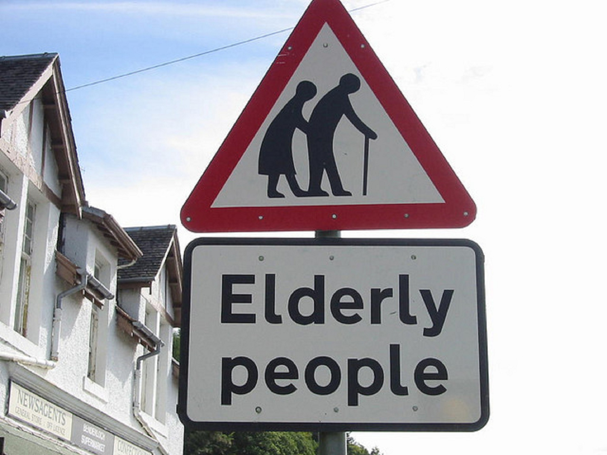 elderly-road-sign